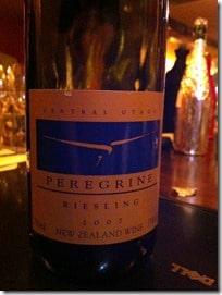 Peregrine Riesling