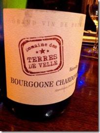 Terres de Velle Bourgogne Chardonnay