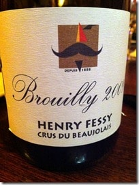 Fessy's Brouilly