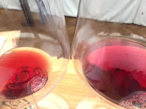 two colours of Pinot