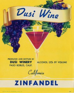 Dusi Wine Label