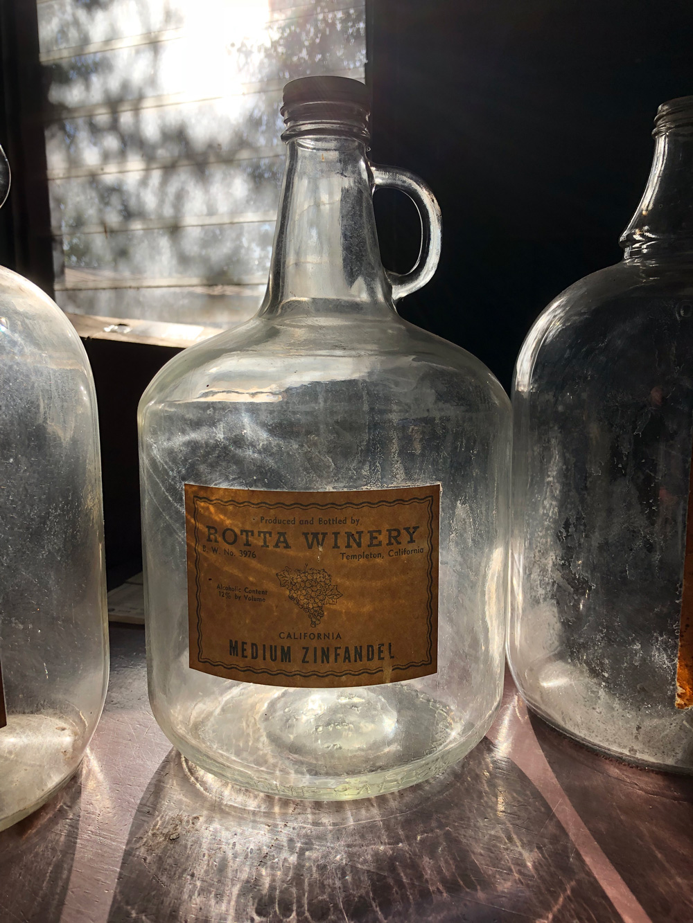 Rotta Wine Bottle