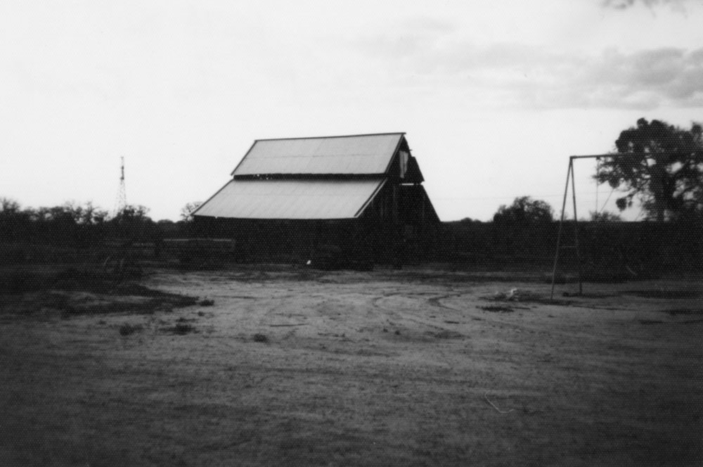 The old barn built in 1890s and moved to Ernst Ranch in 1921