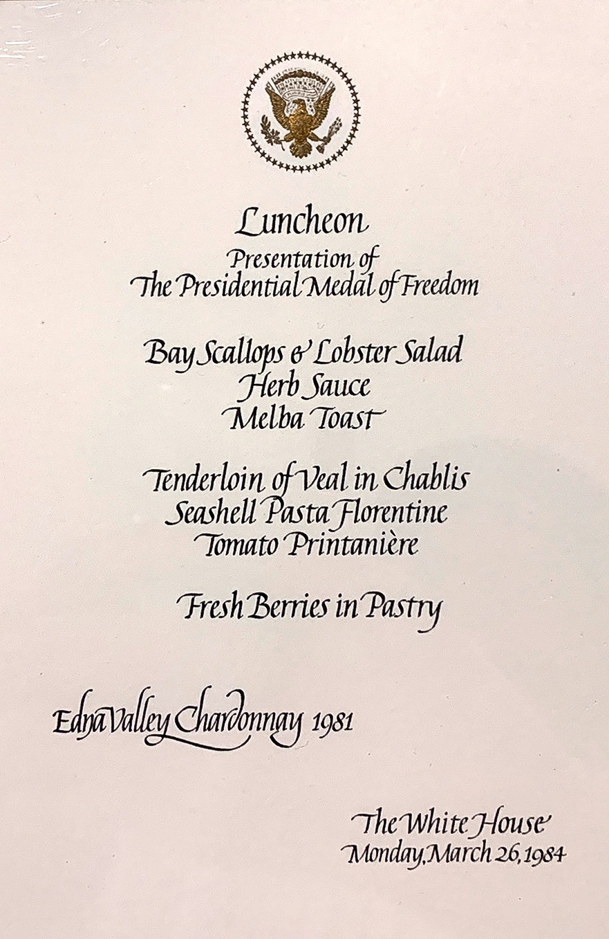 WhiteHouseMenu-Mar26-1984-EdnaValley