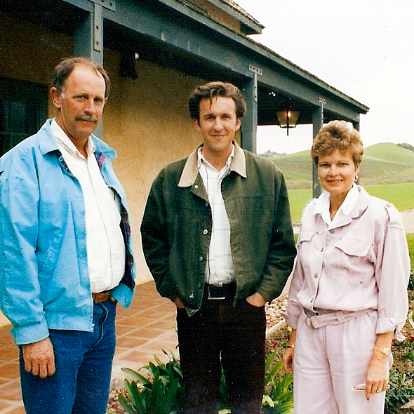 Don, Brian, and Rosemary Talley.