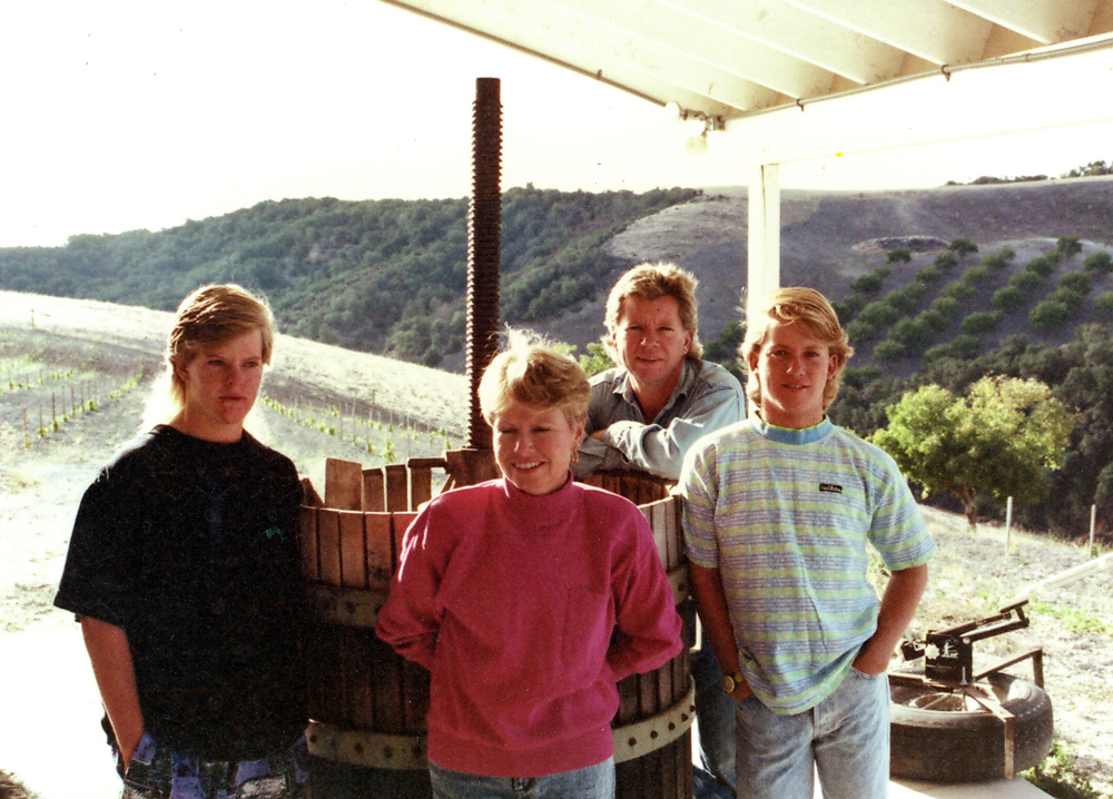 Peachy Canyon, circa 1990.