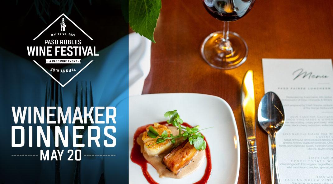 2021 Paso Wine Festival Dinners