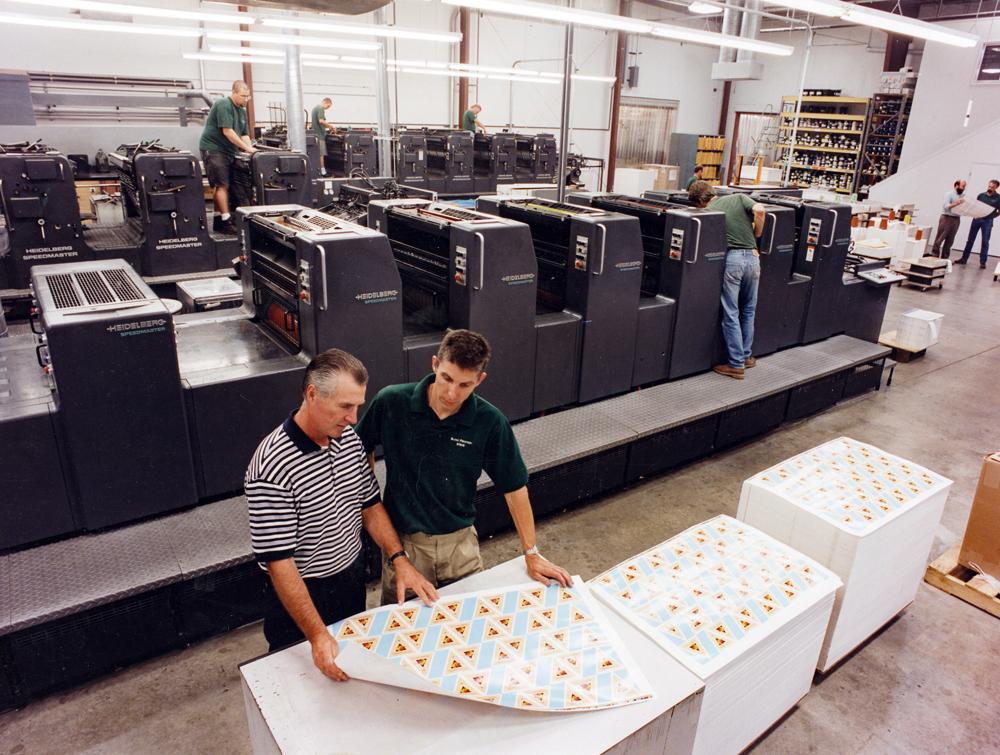 Blake Printing Press Room