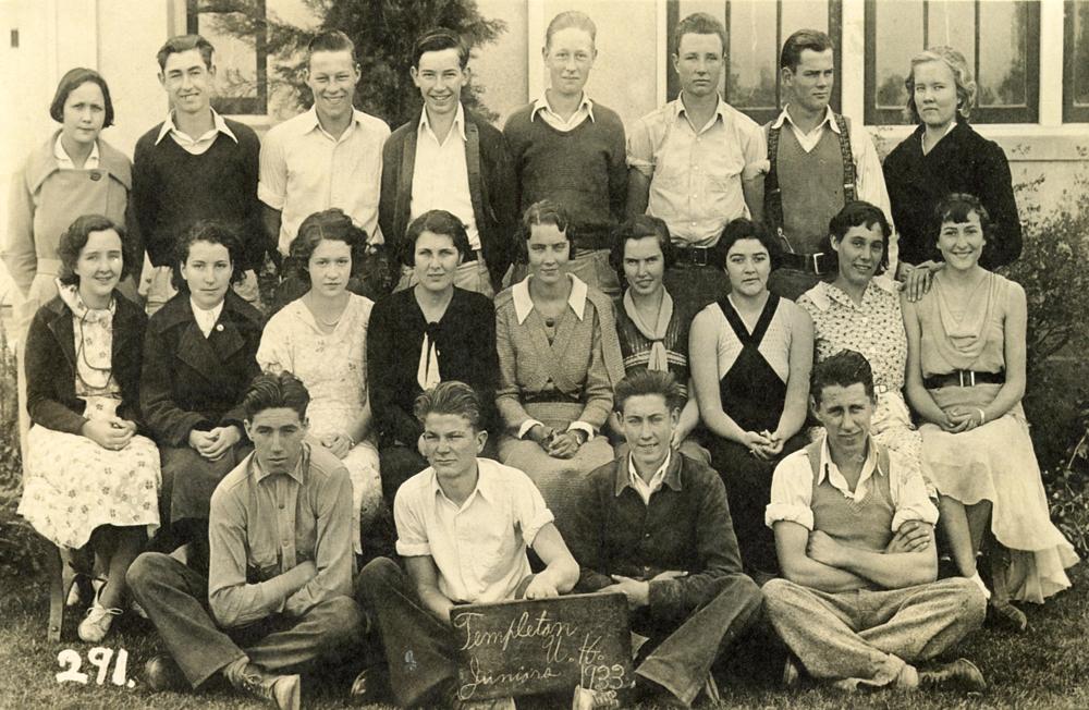 Templeton Juniors, 1933