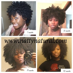Love the growth! Taking care of the hair from within as well on the outside helps to keep it healthy.