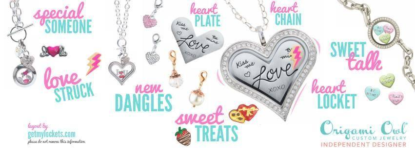Valentine's Day charms lockets necklace limited edition