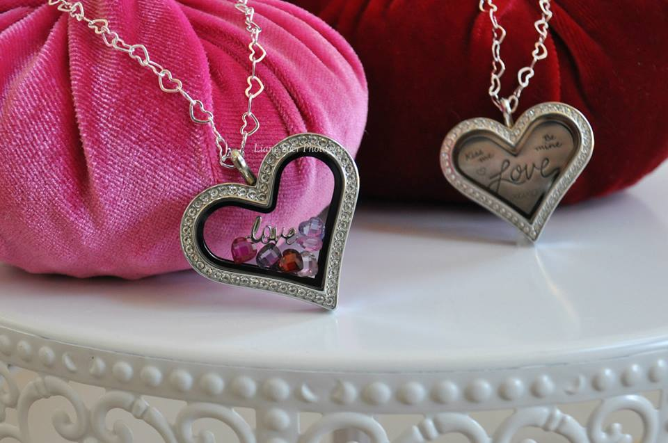 heart locket love valentines day origami owl alisha lampley chain 2