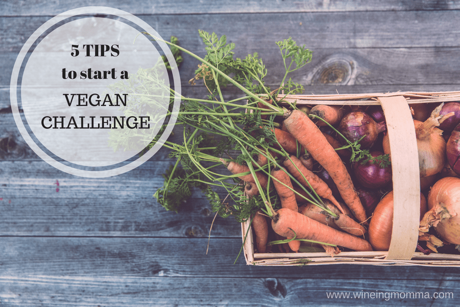 5 Tips to Start a Vegan Challenge