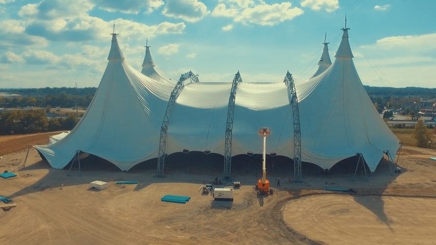 Photo courtesy of Cavalia Odysseo & Worldu0027s Largest Touring Tent Show is Coming to Nashville - Cavalia ...