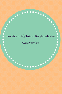 promises to my daughter in law