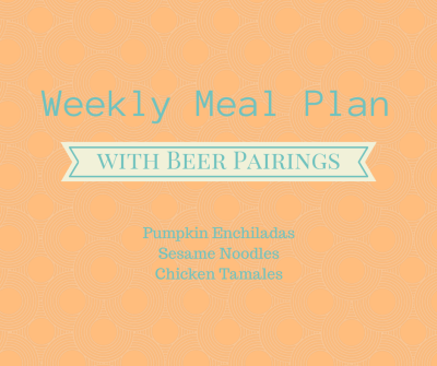 meal plan with beer pairing