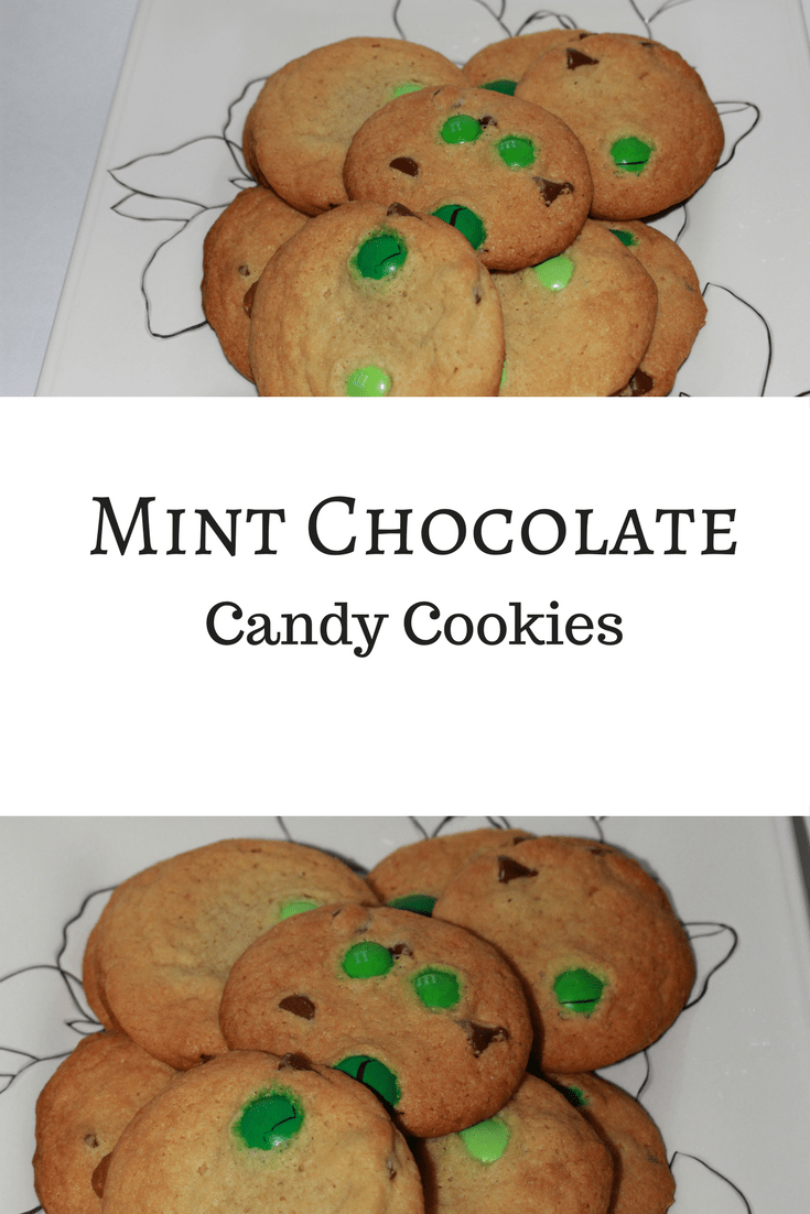 Mint Chocolate candy cookies are delicious and great for celebrating St. Patrick's Day.