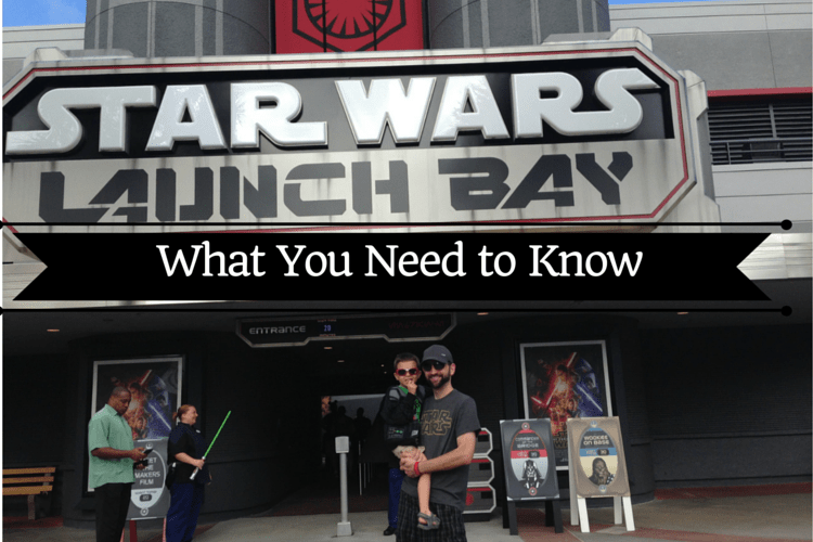 Your Guide to the New Star Wars Launch Bay at Hollywood Studios