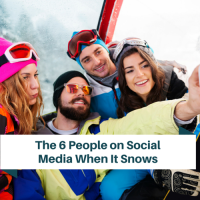 6 More People on Social Media When it Snows