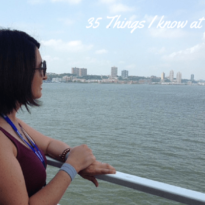 35 Things I Know at 35