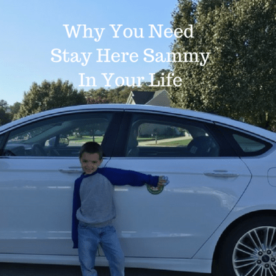 Why You Need Stay Here Sammy In Your Life
