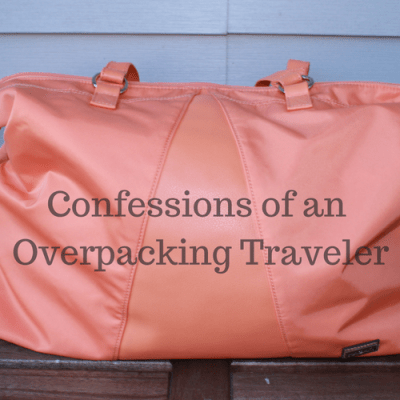 Confessions of an Overpacking Traveler