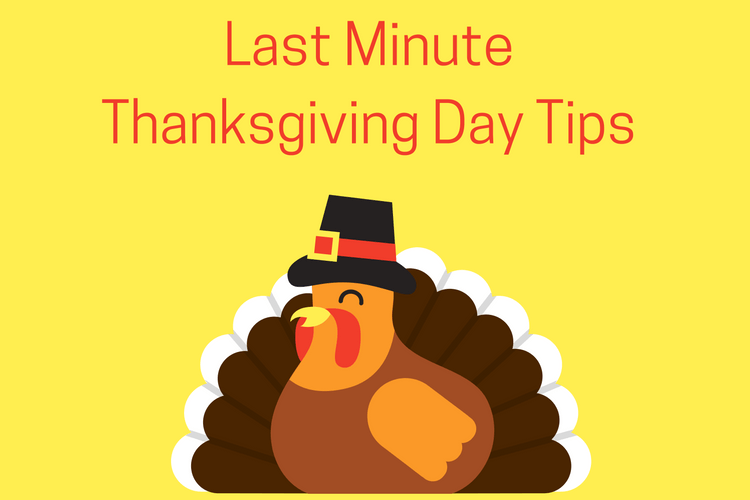 With just a few days till Thanksgiving use these Thanksgiving Day tips to avoid some of the mistakes I've made in the past.
