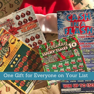 One Gift for All the Hard to Buy For People On Your List: NJ Lottery for the Holidays