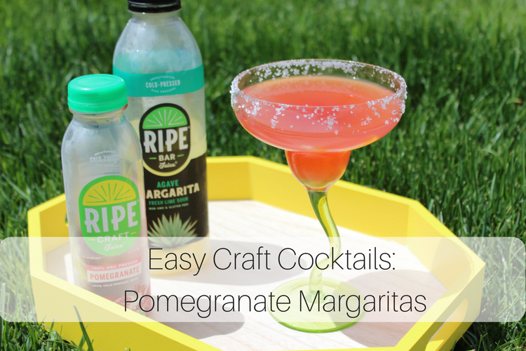 craft pomegranate margarita