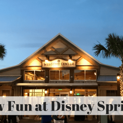 New Fun At Disney Springs