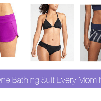 The One Bathing Suit Mom Needs This Summer