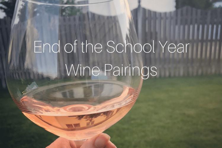 school year wine pairings
