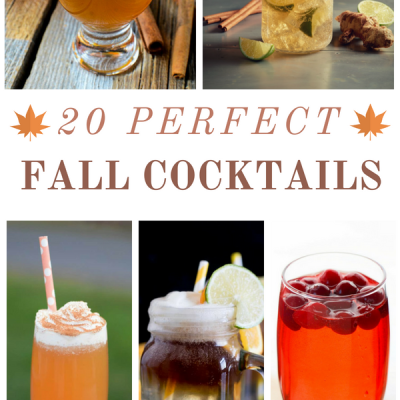 20 Fall Cocktails