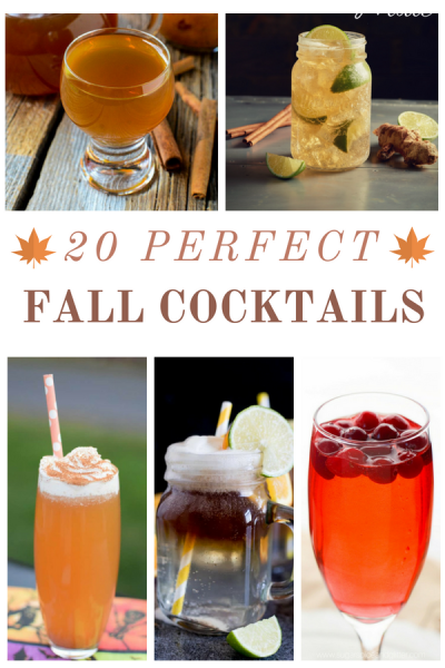 20 Perfect Fall Cocktails