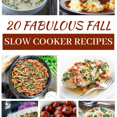 20 Fabulous Fall Slow Cooker Recipes
