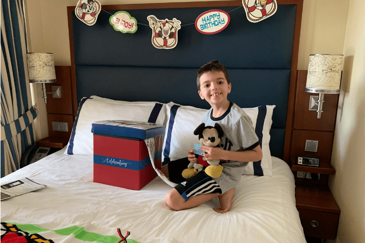 Disney Dream Stateroom Birthday