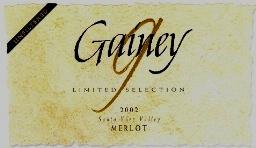 Gainey Merlot LS
