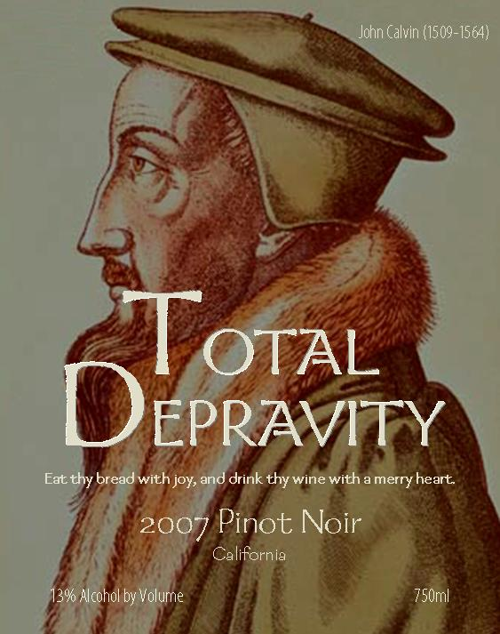 Total Depravity Pinot Noir 2007