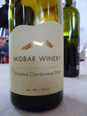 2010 Midbar Chardonnay, unoaked-small