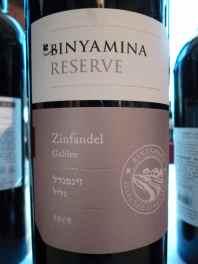 2009 Binyamina Zinfandel, Reserve_