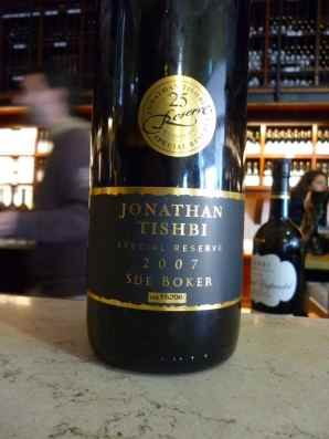2007 Jonathan Tishbi Sde Boker, Special Reserve