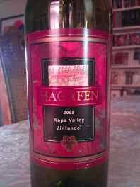2005 Hagafen Zinfandel