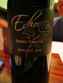 2011 Echo de Roses Camille