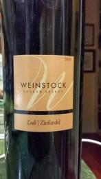 2010 Weinstock Zinfandel, Cellar Select