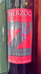 2009 Herzog Zinfandel, Limited Edition, Z2