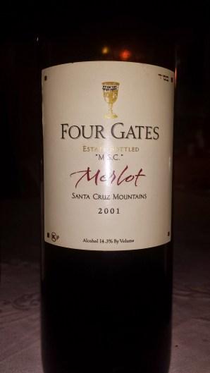 2001 Four Gates Merlot