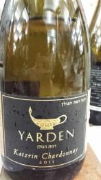 2011 Yarden Chardonnay, Katzrin