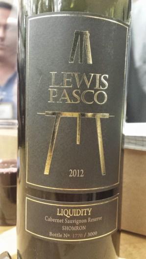 2012 Lewis Pasco Liquidity