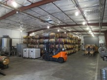 Covenant Winery barrels in Berkeley
