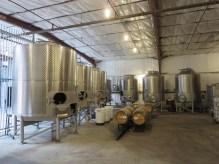 Covenant Winery tanks in Berkeley